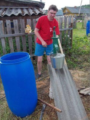 Первичная прокачка воды