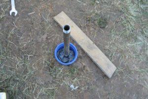 Абисснская скважина с утеплением - для круглогодичного использования