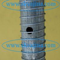 Внутренняя подмотка на фильтре для абиссинского колодца